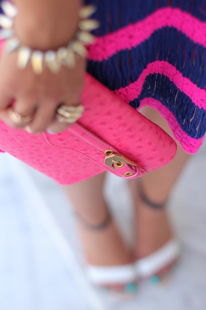 Vivaluxury Fashion Blog By Annabelle Fleur Neon Knit