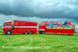 Doncaster Racecourse Spring Bank Holiday Fun Fair May 2015
