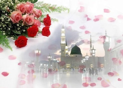 Roza Rasool Inside http://islam-quran-wallpapers.blogspot.com/2011/11/beautiful-roza-rasool-pbuh-islamic-rose.html