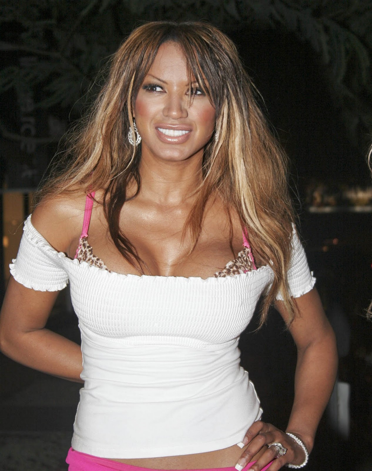 Traci Bingham And Her Classy Tits 02 are not pregnant or small