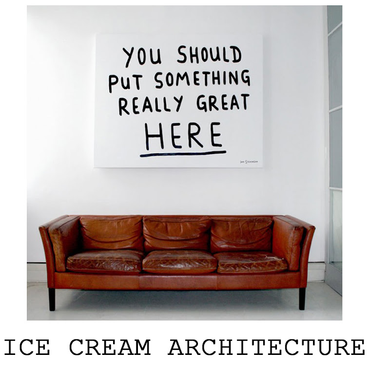 Ice cream architecture