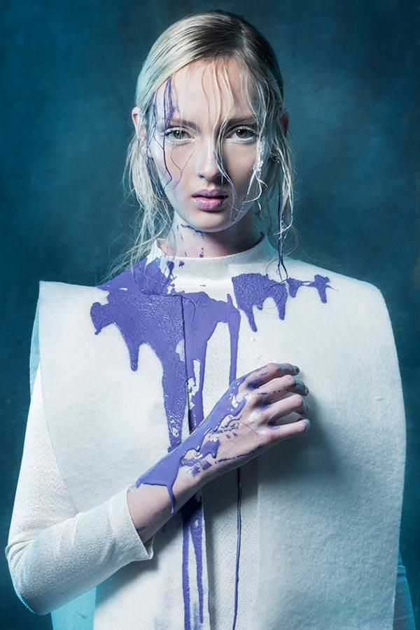 Fotografía, Uniendo la moda y la pintura de Cristian Bilos