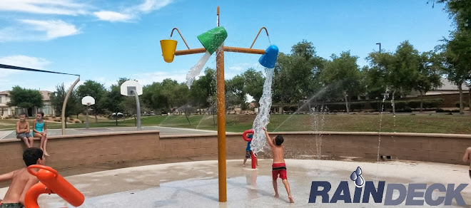 Splash Pad Features by Rain Deck
