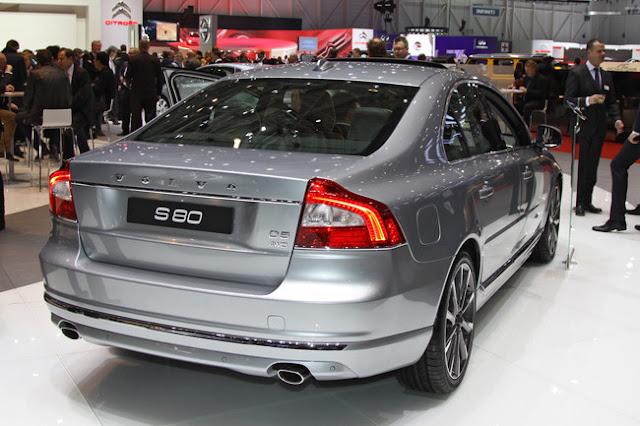 новый Volvo s80 2013 года