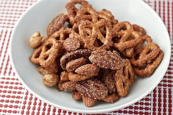 addictively delicious sweet and spicy snack mix