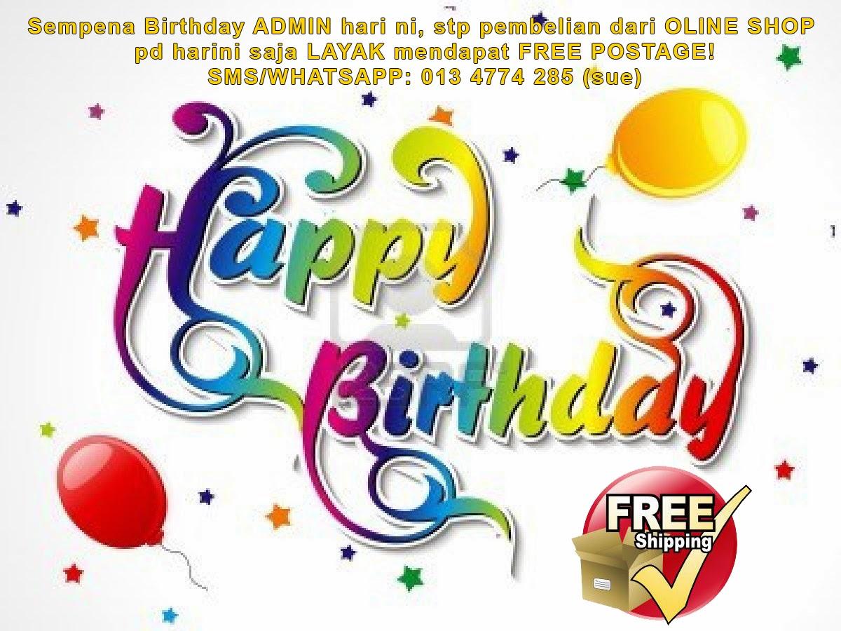 birthday admin