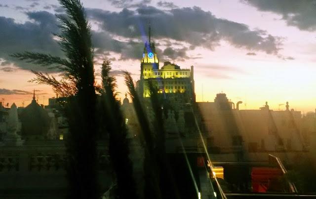 Azotea The Principal, vistas de los tejados de Madrid