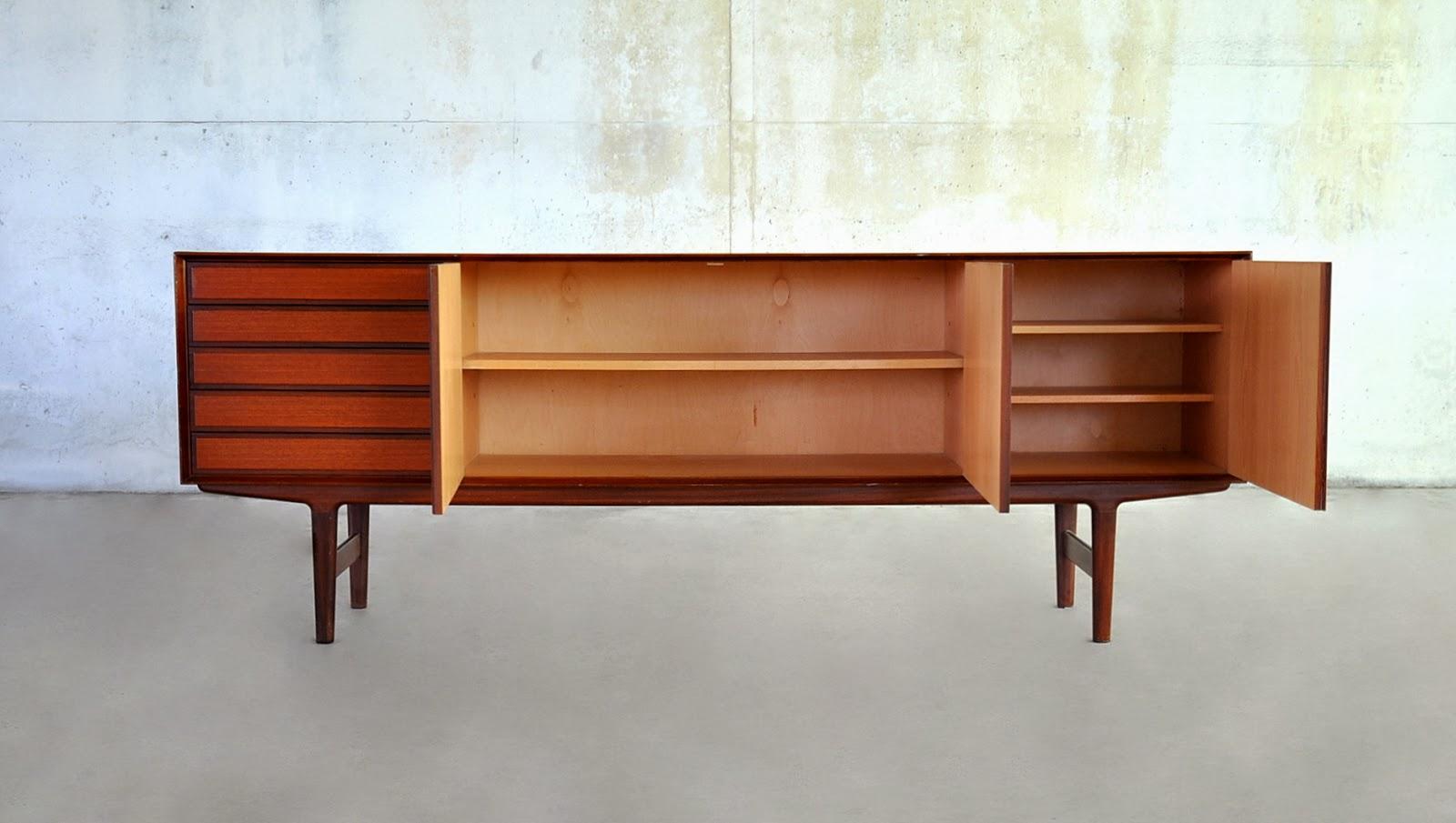 Danish Style Credenza : Select modern: danish modern teak credenza bar sideboard buffet