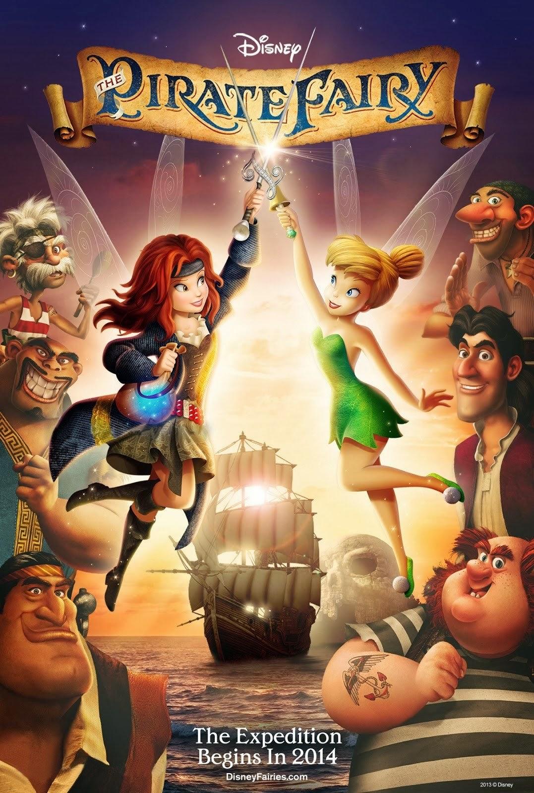 Tinker Bell and The Pirate Fairy ทิงเกอร์เบลล์กับโจรสลัดนางฟ้า [HD]