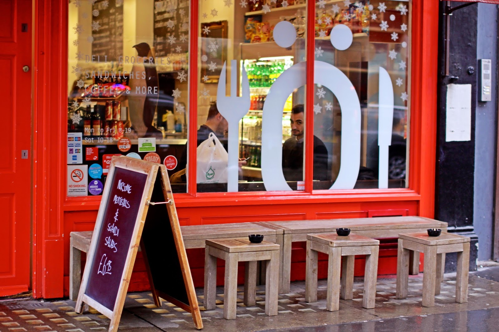 bonnes adresses restaurants Londres Skandikitchen lexie blush