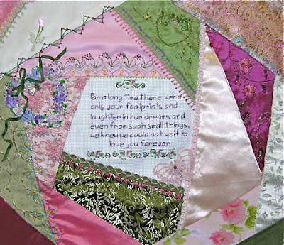 CRAZY QUILTING INTERNATIONAL: Hearts I Round Robin 2009