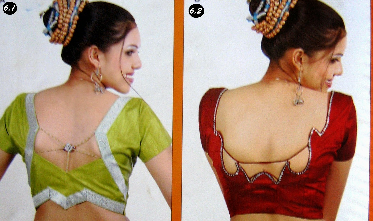 Fashion designing blouse models 17