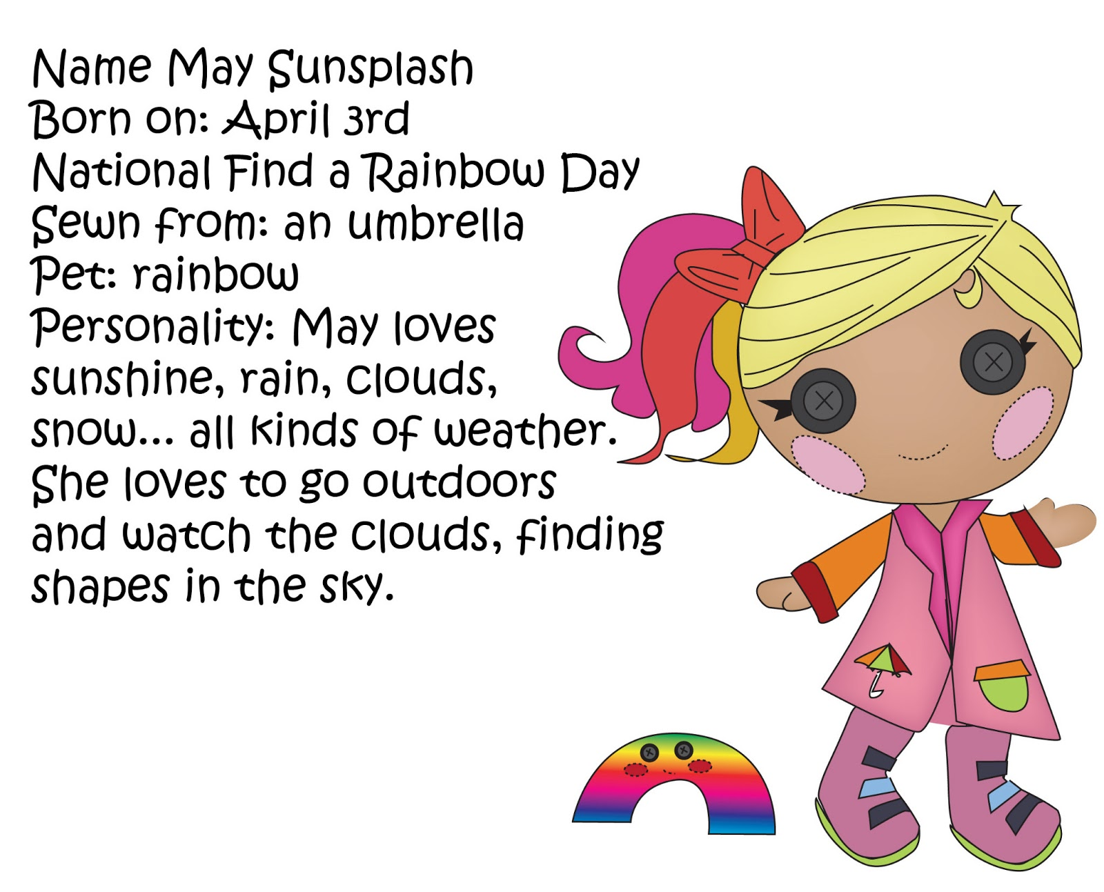 Miss Missy Paper Dolls Lalaloopsy Littles and request