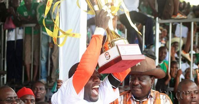President Kenyatta congratulates Gor Mahia for winning title