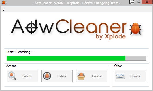 AdwCleaner 2.2 - Removes Adware, Toolbars, PUPs