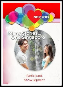 NDP 2013 Show Segment Participant.Read my journey here!
