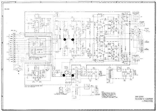 AKAI AA 1115 AND 1125SM Circuit Diagram