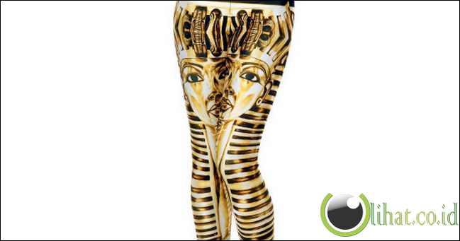 10 Desain Celana Legging yg memiliki Corak Heboh 10