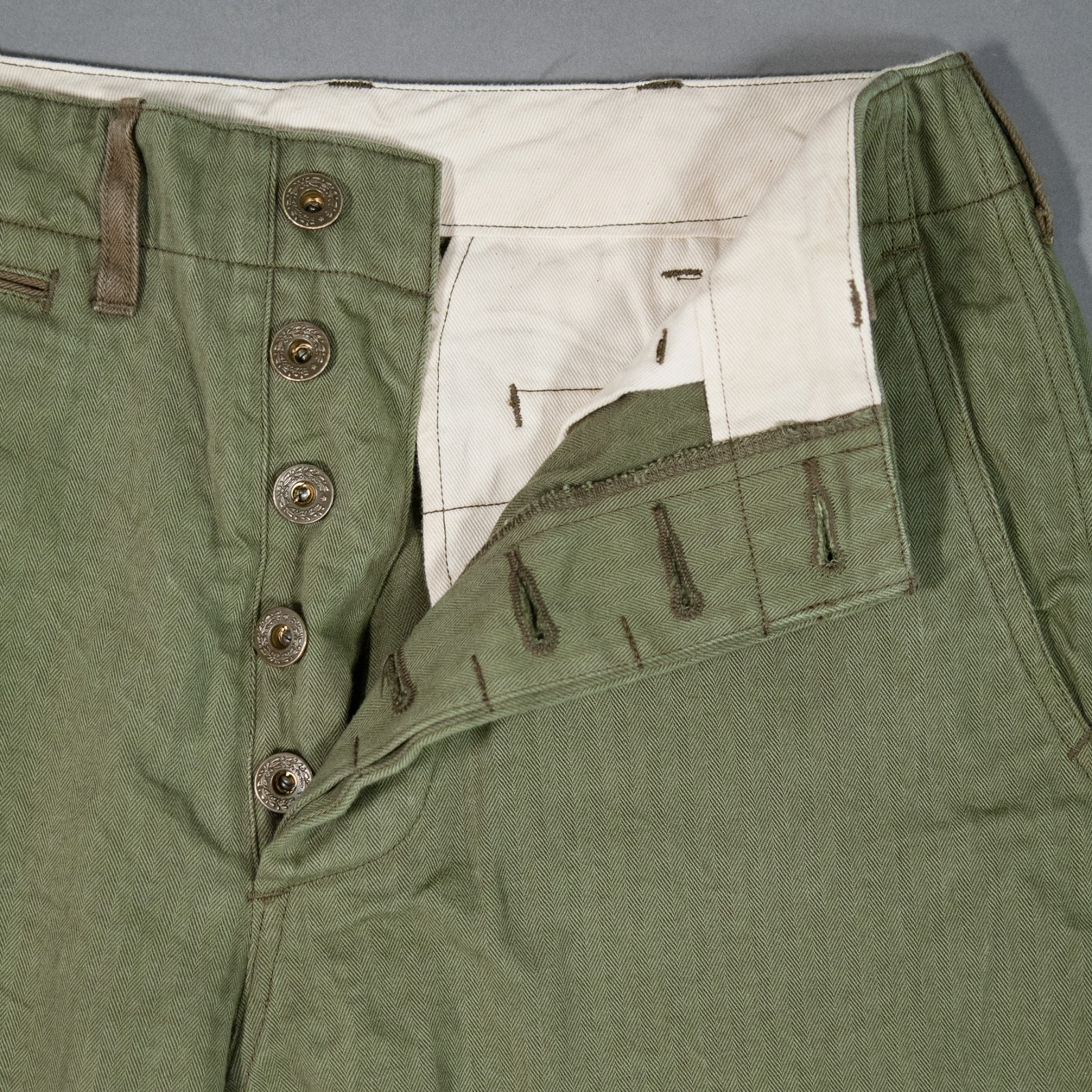 Buzz Rickson's HBT 1942 Trousers