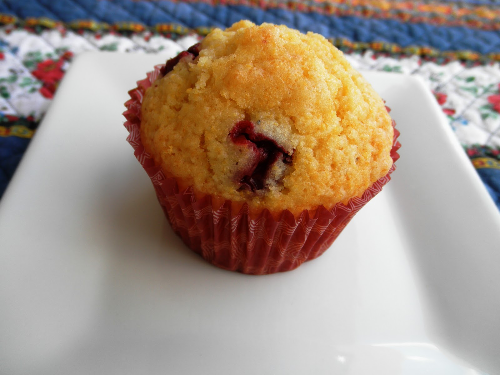 Lex's Life as a New Wife: Cranberry Orange Muffins