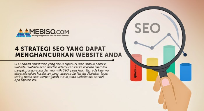 4 Strategi SEO Ini Dapat Menghancurkan Website Anda