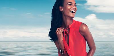 Avec Liya Kebede c'est déjà le printemps chez H&M