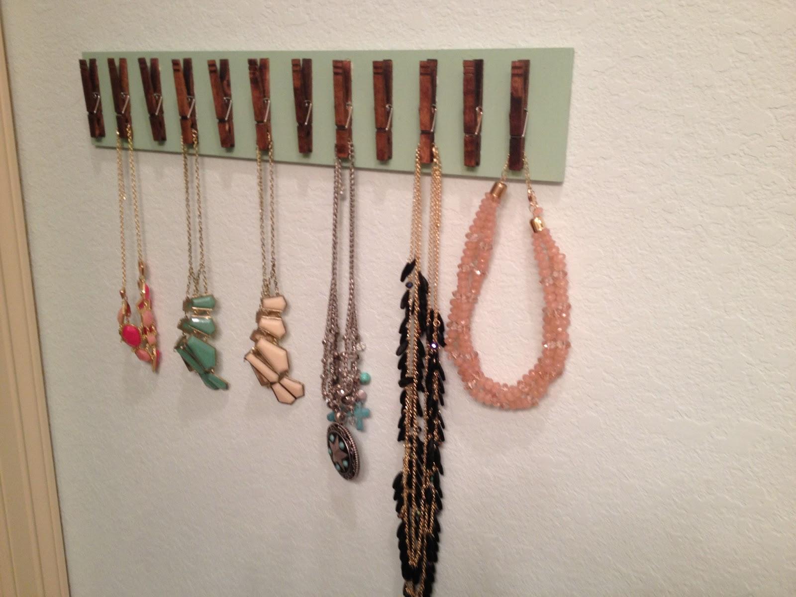 Diy Jewelry Holder Power Tools And High Heels Diy Jewelry Holder