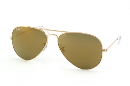 Ray-Ban Aviator Large Metal RB 3025 W3276 gold mirror