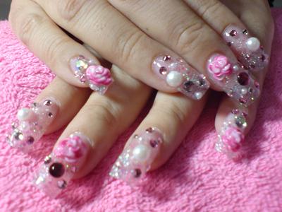 Nail art idea japanese 3d nail art gallery 3d art painting nails fashion and styles prinsesfo Choice Image