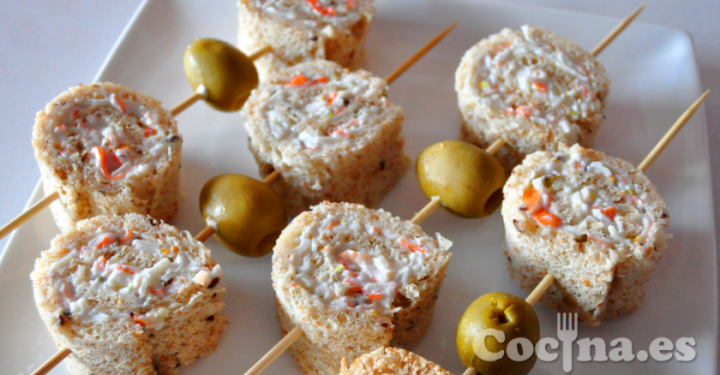 Ideas y cosas para tus fiestas infantiles canapes for Ideas de comidas faciles
