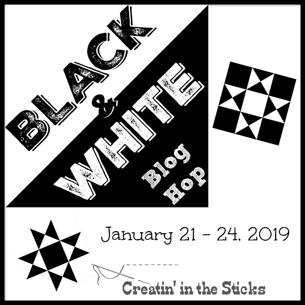 Black and White Blog Hop