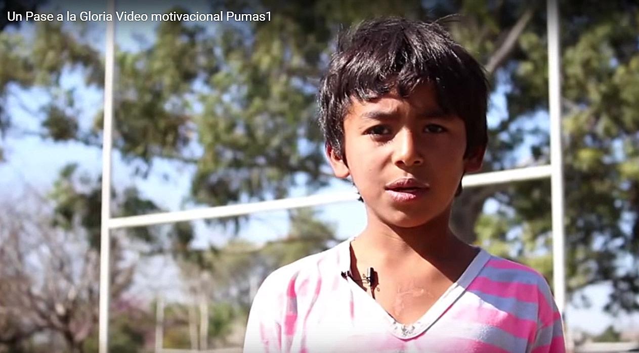 Emotivo mensaje de chicos tucumanos para Los Pumas