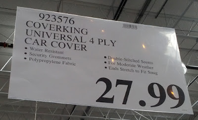 Deal for the Coverking Moda Coverbond Universal Car Cover at Costco