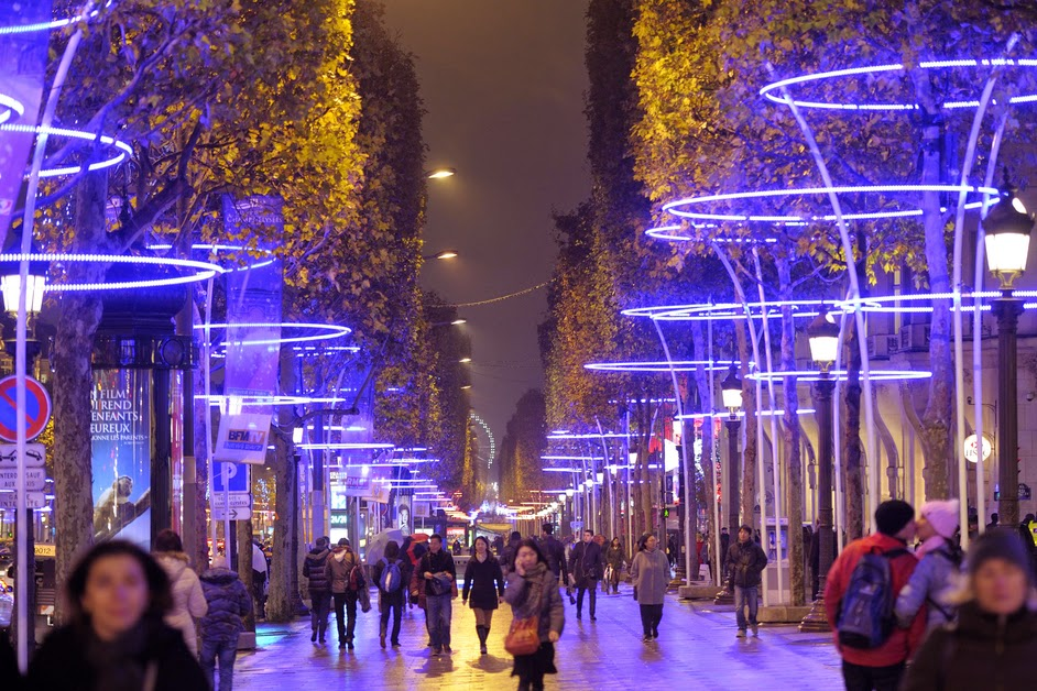Illuminations et march s de no l paris 2014 2015 bons plans sorties paris - Illumination a paris ...