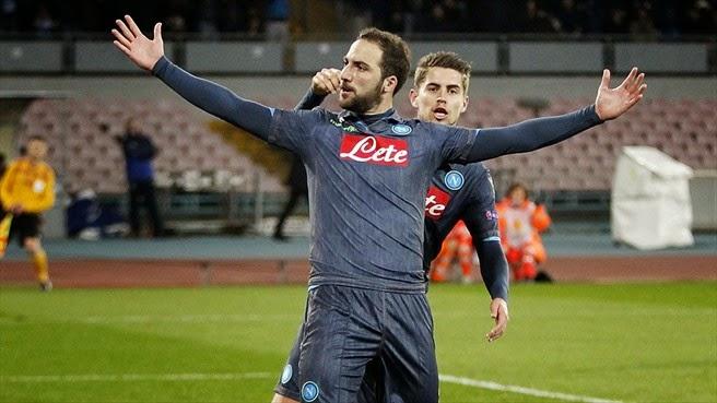 Europa League: Napoli-Dinamo Mosca 3-1 VIDEO gol highlights