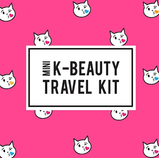 kittens, cat, cute, meme, travel box, pink, korean cosmetics, asian skincare, makeup