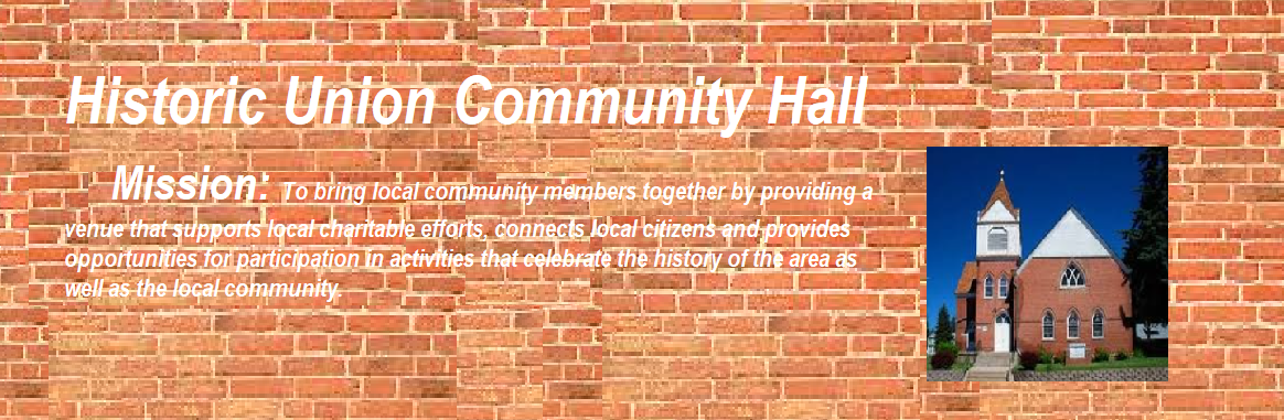 Historic Union Community Hall