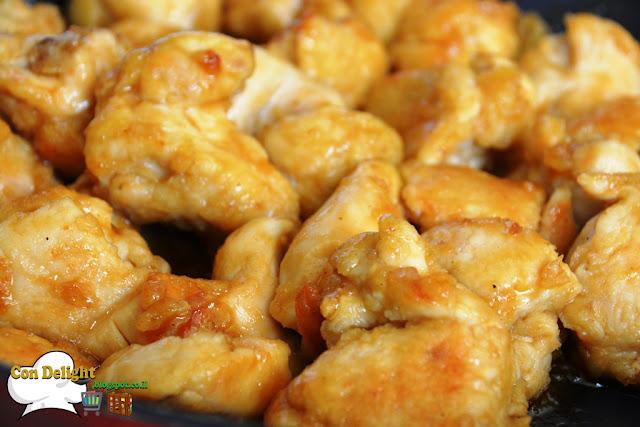חזה עוף ברוטב מתקתק  Sweet and juicy chicken breast