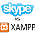 Fixing Xampp and Skype port conflict issue
