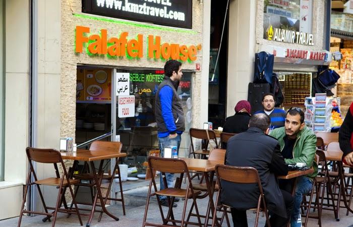 مطعم بيت الفلافل في اسطنبول