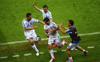 أهداف مباراة اليونان وروسيا 1-0 في بطولة اليورو 16-6-2012