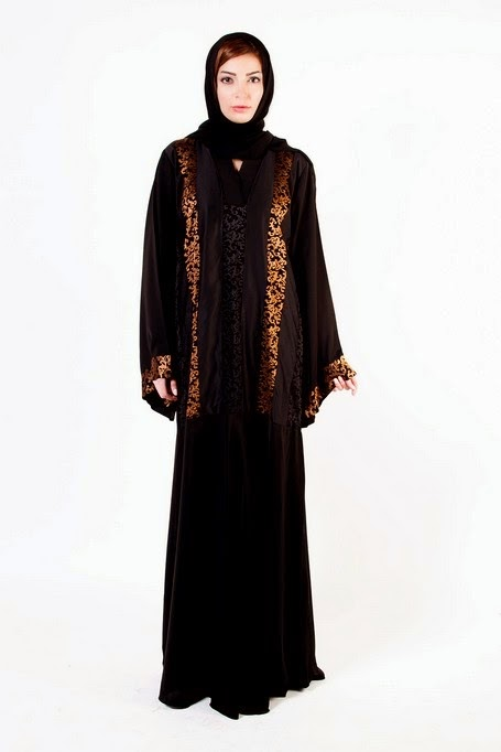 Best Abaya Designs 2014