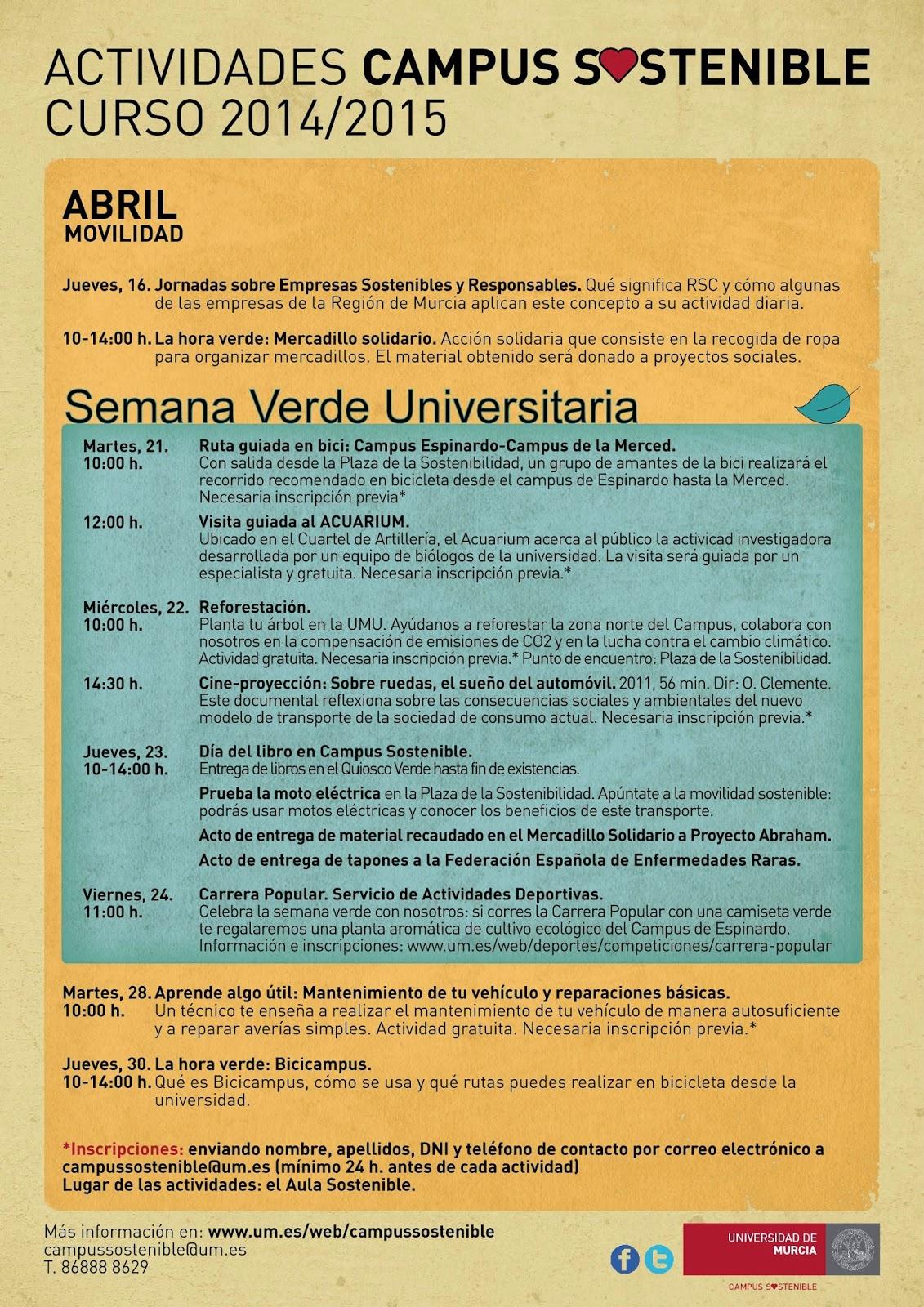"""Semana Verde"" Universitaria."