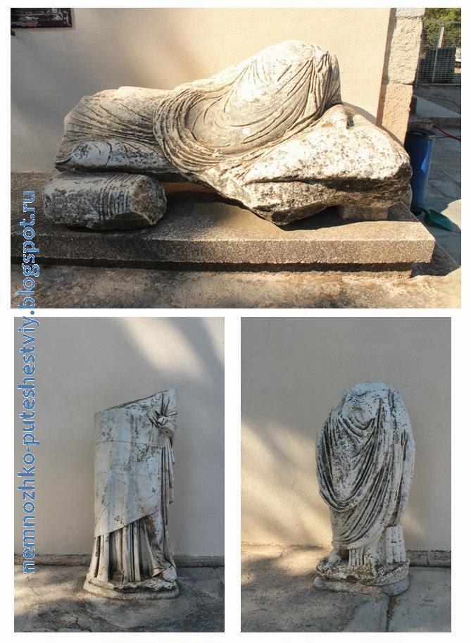 рядом с Археологическим музеем в Эпидавре