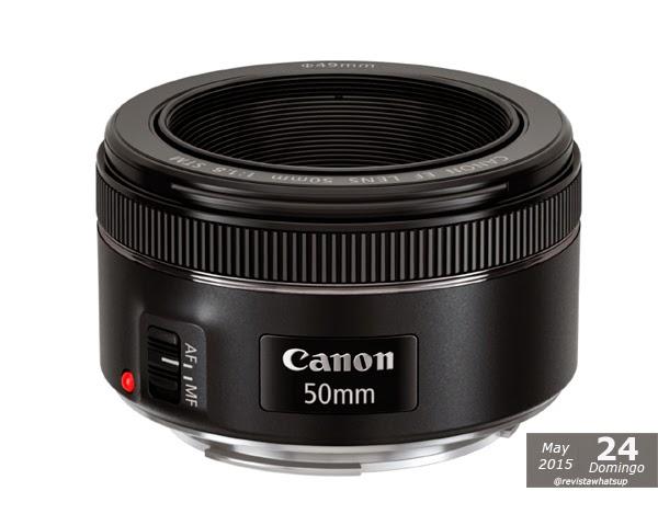Canon-U.S.A-Latin-America-Group-introduce-nuevo-lente-EF-50MM F/1.8 STM