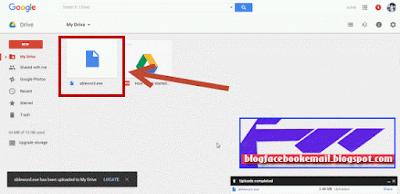 cara menyimpan data ke situs penyimpan file di internet