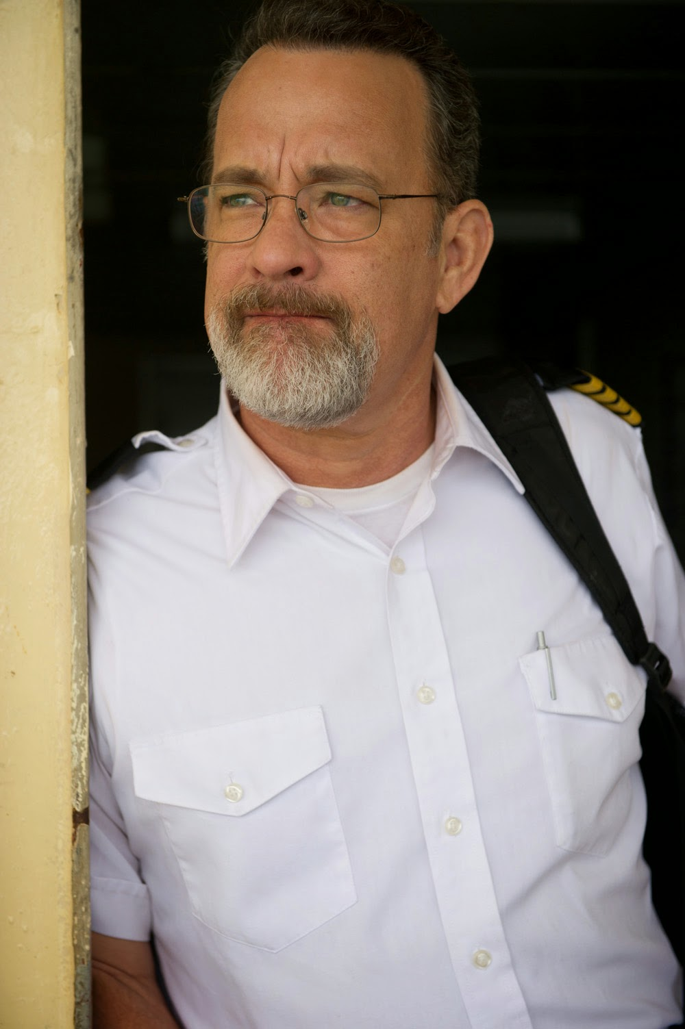 Tom Hanks plays the titular  true-to-life character in Columbia    Tom Hanks Captain Phillips