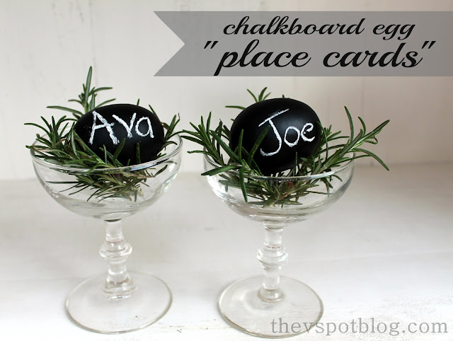 eggs, Easter, chalkboard, rosemary, champagne glass, paint,