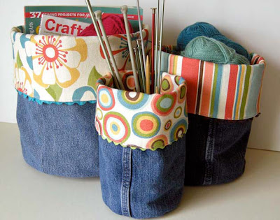 Cool Ways To Reuse Old Denim (30) 22