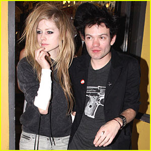 Deryck Whibley with Avril lavigne